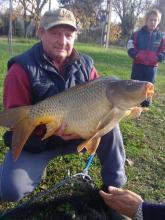 Boros László 15,6 kg-os ponty /2013. noveber 16./