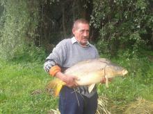 Hercog György 14,58 kg. ponty /2014.05.03./