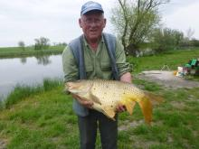 Losits Vilmos 9,5 kg-os pontyot fogott május 1-én